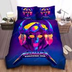 Metallica Worldwired Tour Bed Sheets Spread Comforter Duvet Cover Bedding Sets