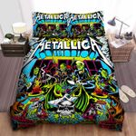 Metallica Fuel And Fire Bed Sheets Spread Comforter Duvet Cover Bedding Sets