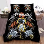 Metallica The Awmh Month Of Giving Returns Bed Sheets Spread Comforter Duvet Cover Bedding Sets