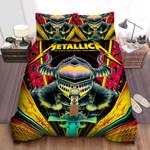 Metallica In Tartu Bed Sheets Spread Comforter Duvet Cover Bedding Sets