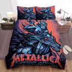 Metallica In Birmingham Bed Sheets Spread Comforter Duvet Cover Bedding Sets