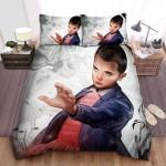 Stranger Things Nosebleed Eleven Vs The Monster Painting Bed Sheets Spread Comforter Duvet Cover Bedding Sets