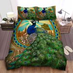 Peacock Bedding Set (Duvet Cover & Pillow Cases)