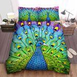 Peacock Colorful Bedding Set (Duvet Cover & Pillow Cases)