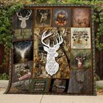Deer Hunting Good Things Come To Those Who Want Quilt Blanket  Great Customized Blanket Gifts For Birthday Christmas Thanksgiving Anniversary