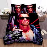 The Terminator Movie Poster Bed Sheets Spread Comforter Duvet Cover Bedding Sets