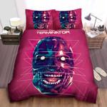 The Terminator Skull In Digital Artwork Bed Sheets Spread Comforter Duvet Cover Bedding Sets