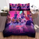 Stranger Things The Final Battle With The Mind Flayer Bed Sheets Spread Comforter Duvet Cover Bedding Sets