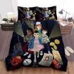 Stranger Things The Party Group On Adventure Finding Will Bed Sheets Spread Comforter Duvet Cover Bedding Sets