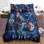 Aliens Alternate Poster Bed Sheets Spread Comforter Duvet Cover Bedding Sets