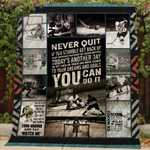 Hockey You Can Do It Quilt Blanket Great Customized Blanket Gifts For Birthday Christmas Thanksgiving Anniversary