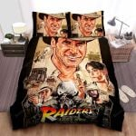 Raiders Of The Lost Ark Vintage Art Painting Bed Sheets Spread Comforter Duvet Cover Bedding Sets