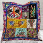 And Into The Forest I Go To Lose My Mind And Find My Soul  Hippie Peace Quilt Blanket Great Customized Blanket Gifts For Birthday Christmas Thanksgiving