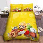 Super Mario Marker Fixing Question Block Bed Sheets Spread Comforter Duvet Cover Bedding Sets