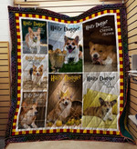 Corgi Harry Dogger Bone Of Secrets Quilt Blanket Great Customized Blanket Gift For Birthday Christmas ThanksgivingAnniversary