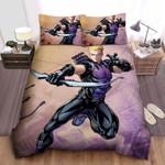 Hawkeye Marvel Comic Bed Sheets Spread Comforter Duvet Cover Bedding Sets