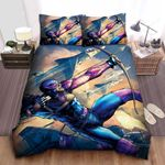 Hawkeye Riding Rockets Bed Sheets Spread Comforter Duvet Cover Bedding Sets
