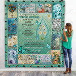 In Loving Memory Of A Very Special Husband Quilt Blanket Great Customized Blanket Gifts For Memorial, Remembrance