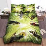 Ninjago Elemental Masters In The Bamboo Jungle Bed Sheets Spread Comforter Duvet Cover Bedding Sets