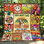 Colorful Painting I'M Not The Only Dreamer Quilt Blanket Great Customized Blanket Gifts For Birthday Christmas Thanksgiving