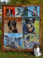 Australian Cattle Dog Quilt Blanket Great Customized Blanket Gifts For Birthday Christmas Thanksgiving Anniversary