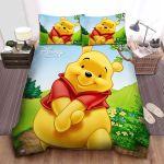 Disney Winnie The Pooh Cute Portrait Bed Sheets Spread Comforter Duvet Cover Bedding Sets