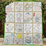 Elephant Elephant Motifs Are So Cute Cub Elephant Sailor Quilt Blanket Great Customized Blanket Gifts For Birthday Christmas Thanksgiving