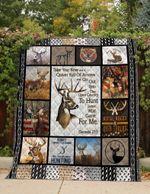 Deer Rifle Racks And Deer Tracks Quilt Blanket Great Customized Blanket Gifts For Birthday Christmas Thanksgiving