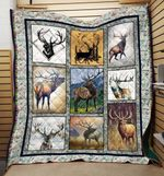 Deer Looking Ahead Deer Seasons Quilt Blanket Great Customized Gifts For Birthday Christmas Thanksgiving Anniversary