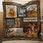 Deer Hunting Best Thing In Life Is Hunting Quilt Blanket Great Customized Blanket Gifts For Birthday Christmas Thanksgiving
