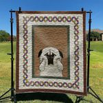 Pug Dog Cute Pug Dog Chubby Dog Quilt Blanket Great Customized Blanket Gifts For Birthday Christmas Thanksgiving
