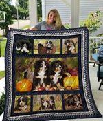 Bernese Mountain Dog Friend Dogs Quilt Blanket