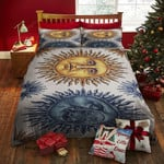 Hippy Sun And Moon Bed Sheets Duvet Cover Bedding Set Great Gifts For Birthday Christmas Thanksgiving