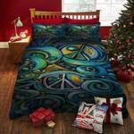 Hippie Symbol Bed Sheets Duvet Cover Bedding Sets