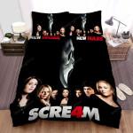 Scream 4 Movie Poster 1 Bed Sheets Spread Comforter Duvet Cover Bedding Sets
