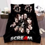 Scream 4 Movie Poster 3 Bed Sheets Spread Comforter Duvet Cover Bedding Sets