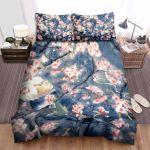 Mushishi Ginko Sakura Flower Bed Sheets Spread Comforter Duvet Cover Bedding Sets