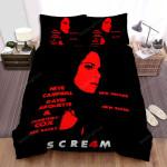 Scream 4 Face Art Bed Sheets Spread Comforter Duvet Cover Bedding Sets