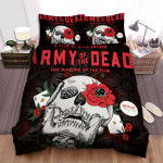 Army Of The Dead Skullcap Bed  Sheets Spread Comforter Duvet Cover Bedding Sets