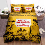 The Undefeated Movie Poster Bed Sheets Spread Comforter Duvet Cover Bedding Sets Ver 1