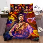 Army Of The Dead Lead Actor Bed Sheets Spread Comforter Duvet Cover Bedding Sets