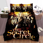 The Secret Circle (2011–2012) Movie Poster Theme Bed Sheets Spread Comforter Duvet Cover Bedding Sets