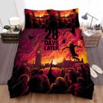 28 Days Later... Movie Poster Vi Photo Bed Sheets Spread Comforter Duvet Cover Bedding Sets
