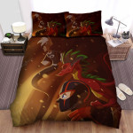 Randy Cunningham: 9th Grade Ninja In The Battle Bed Sheets Spread Duvet Cover Bedding Sets