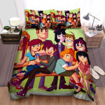 Randy Cunningham: 9th Grade Ninja All Characters Bed Sheets Spread Duvet Cover Bedding Sets