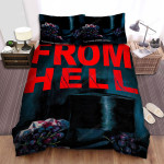 From Hell Movie Art 2 Bed Sheets Spread Comforter Duvet Cover Bedding Sets