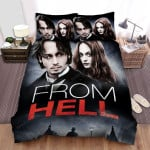 From Hell Movie Poster 3 Bed Sheets Spread Comforter Duvet Cover Bedding Sets