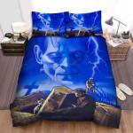 Frankenstein Face Background Bed Sheets Spread Comforter Duvet Cover Bedding Sets