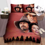 Open Range (2003) Movie Red Sky Photo Bed Sheets Spread Comforter Duvet Cover Bedding Sets