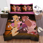 Home On The Range (2004) In Horse-Drawn Cariage Movie Poster Bed Sheets Spread Comforter Duvet Cover Bedding Sets